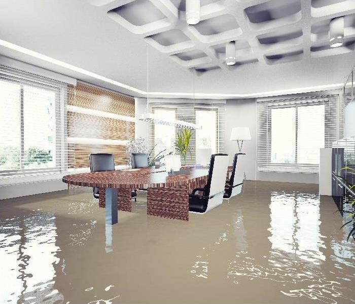 flooding in office