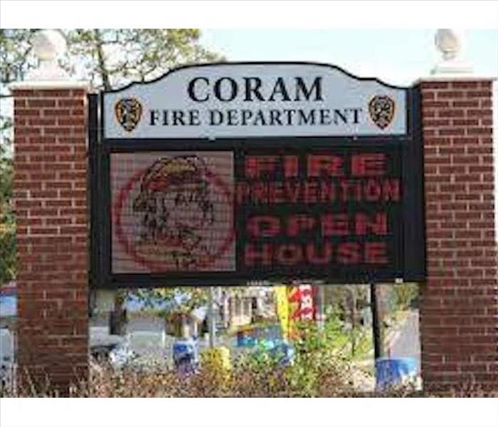 SIGNAGE FOR CORAM FD